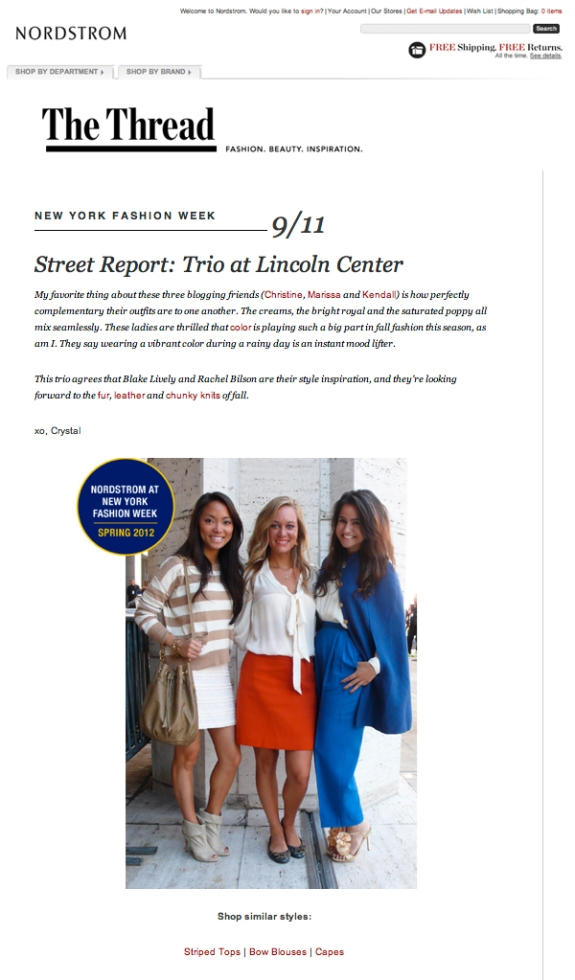 Nordstrom The Trend - Kendall Donaldson featured Fashion Blogger